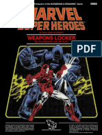 Marvel Super Heroes - Weapons Locker