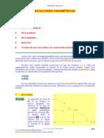 Ecuaciones Paramétricas Geo