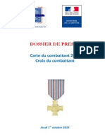 Dossier de Presse - MINDEF - SEDACM - OnAC - Carte Du Comb…