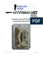 envisionlabs wood clocks
