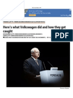 Here's What Volkswagen Did and How They Got Caught - Business Insider