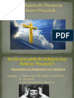 Die Religion Als Thema in Bu00FCchners Woyzeck