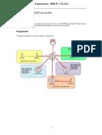 Trabajo Práctico  -  DHCP + VLANs