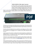 Matters in an RS232, RS422, RS485 Or Fiber Optic Converter