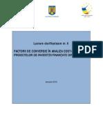 13 Factori Conversie ACB