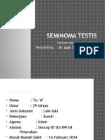 Presus Seminoma Testis