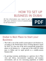 How to Set Up Business in Dubai