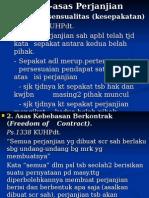 Asas Perjanjian123