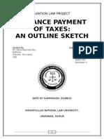 Tax Proj Sem5