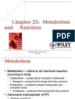 Metabolism and Nutrition