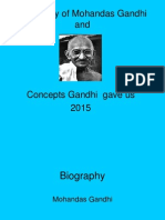Life of Gandhi-His Concepts