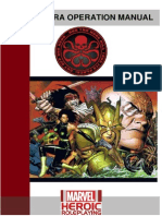 Marvel Heroic Roleplaying - Hydra Operation Manual