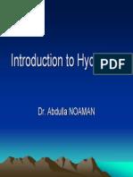 Introduction Ot Hydrology Prezentare