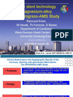 Progress - AMS Study Erbel