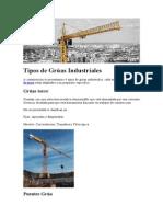 Tipos de Grúas Industriales