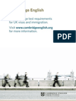 24913 Cae Information for Candidates