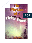 Physics of a Flying Saucer - Ted Roach