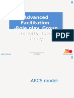 Advanced Facilitation-Role Play,Group Activity,Case Study