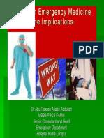 Pitfalls in Emergency Medicine