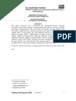 Simposium Nasional Akuntansi 9 Padang Mekanisme Corporate
