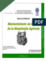 Mantenimiento de Motor de La Maquinaria Agrícola