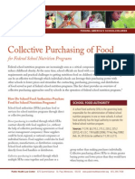 Collective Purchasing of Food for Federal School Nutrition Programs