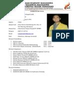 Curriculum Vitae Presma Dan Sekretaris Kabinet BEM KM Unnes 2015_2