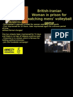 Imprisoned Woman Iran