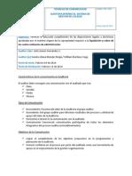 3- c. Técnicas de Comunicación Auditoria- Entregable