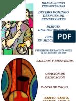 Culto 02-08-15
