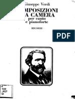 Composizioni da camera G.Verdi