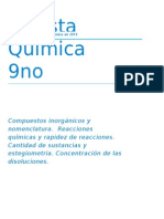 Revista Química 9no
