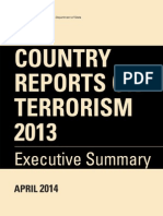 Country Reports on Terrorizem 2013