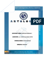 Antología de Derecho Romano I