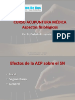 ACUPUNTURA MEDICA Mecanismo FisiologÃ-A