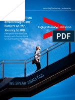 Accenture Analytics in Action Survey