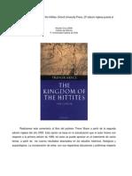 TrevorBryce TheKingdom Ofthe Hittites
