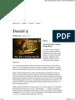 Daniel 9 _ Grupo Anti-Missionario