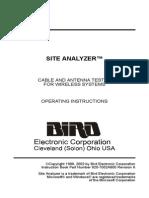 BIRD Site Analyzer