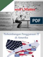 Artikel IT Doesn't Matter
