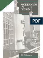 Modernism in Design - Paul Greenhalgh