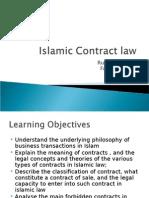 Islamic Contract LawIslamic Contract Law (1)