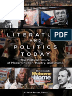Literature and Politics Today