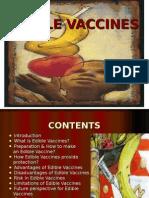 Edible Vaccines