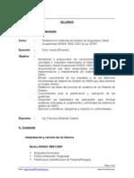 Sillabus_Auditor_Sistemas de Seguridad y Salud Ocupaciona OHSAS 18001_SET.15