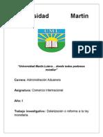 Dolarizacion Total en nicaragua