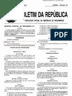 Decreto-Lei Nº 1.2011 - Aprova o Codigo de Estrada
