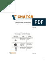 Manual Treinamento - Tecnologias de Identificacao