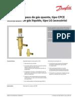 Hot Regulador Bypass de Gás, Tipo CPCE e Misturador de Gás Líquido, Tipo LG DKRCC.pd.HF0.B8.28