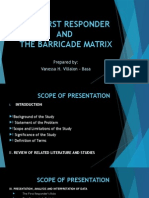 THE FIRST RESPONDER AND BARRICADE MATRIX.pptx